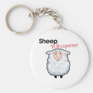 Sheep Whisperer Basic Round Button Keychain
