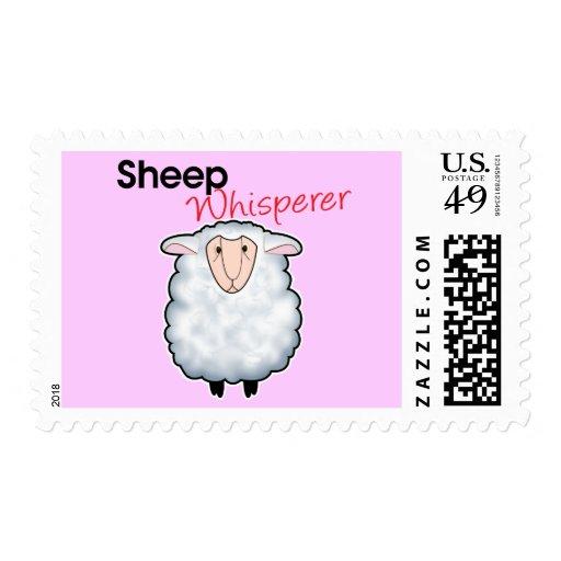 Sheep Whisperer Stamp