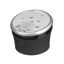 Sheep with flowers and butterflies Z1mk7 Bluetooth Speaker