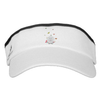 Sheep with flowers and butterflies Z1mk7 Visor