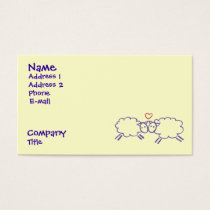 Sheep with Heart Business Card