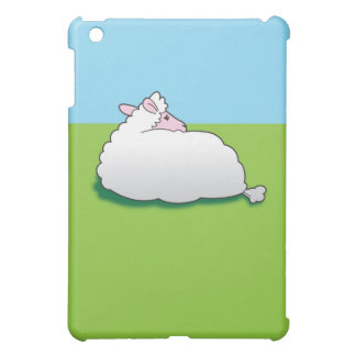 Sheep with his back turned iPad mini cases