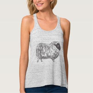 Sheep Women's Bella Flowy Racerback Tank Top