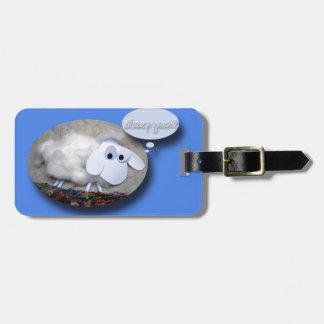 Sheep Year? Chinese New Year 2015 Bag Tag