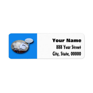 Sheep Year? Chinese New Year of the Sheep 2015 Return Address Label