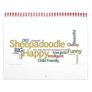 Sheepadoodle Calendar 2014-2015