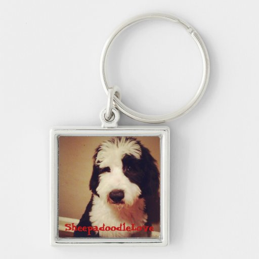 Sheepadoodle Items Keychains