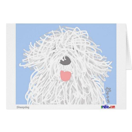 Sheepdog Card