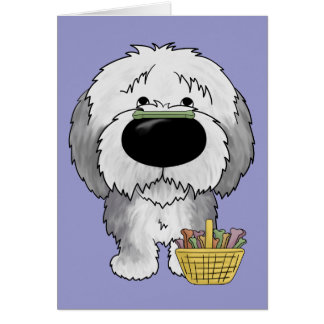 Sheepdog - Easter Bone Hunt, Anyone? Card