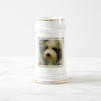 Sheepdog Picture Beer Stein Coffee Mugs