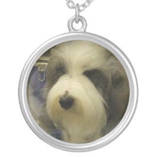 Sheepdog Picture Necklace