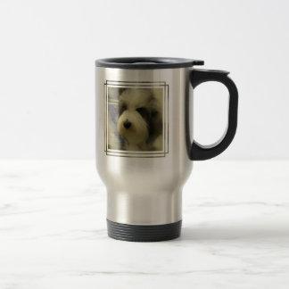Sheepdog Picture Stainless Travel Mug
