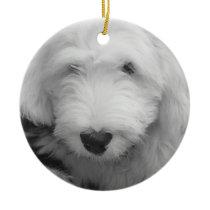 Sheepdog Puppy Ornament