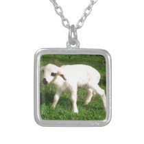 Sheepish Silver Plated Necklace