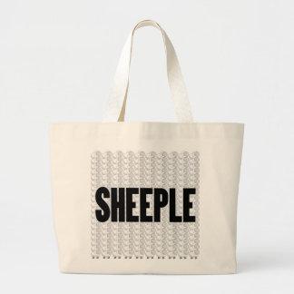 SHEEPLE 2 CANVAS BAG