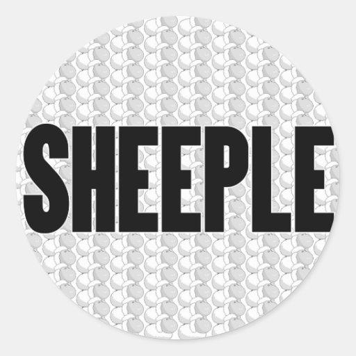 SHEEPLE 2 PEGATINAS