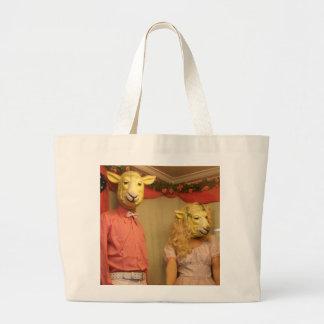 Sheeple Are Among Us Canvas Bag