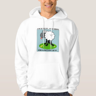 Sheeple are Smarter Than You Think Hooded Pullover