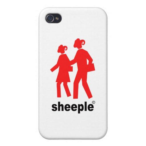 Sheeple iPhone 4/4S Carcasas