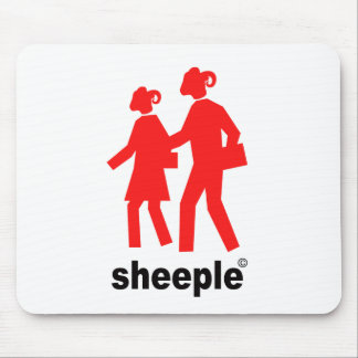 Sheeple Mouse Pad