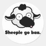 Sheeple va pegatina del baa