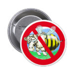 Sheeplebee forbidden pinback button