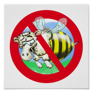 Sheeplebee forbidden poster