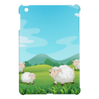 Sheeps and hound cover for the iPad mini