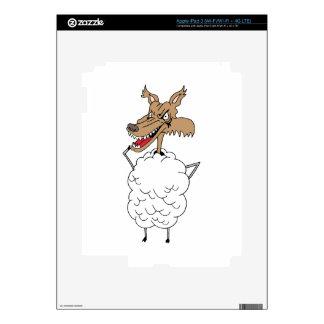 Sheep's clothing wolf iPad 3 skin