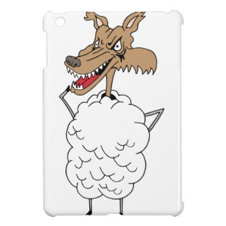 Sheep's clothing wolf iPad mini covers