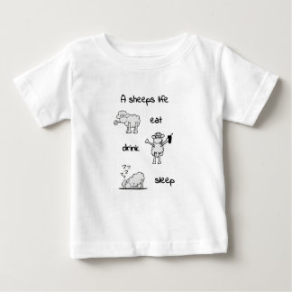 sheeps life baby T-Shirt