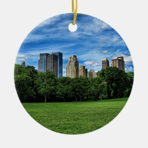 Sheep's Meadow, Central park NYC Christmas Ornament