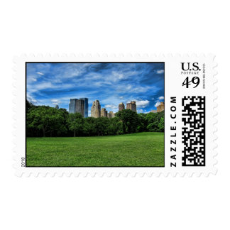 Sheep's Meadow, Central Park Postage