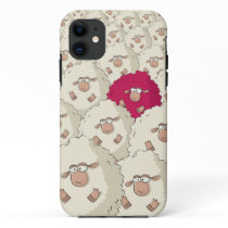 Sheeps Pattern iPhone 11 Case