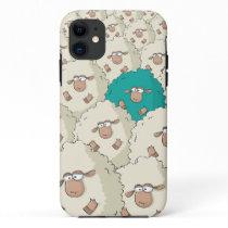 Sheeps Pattern iPhone 11 Case