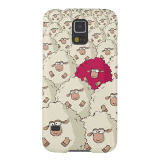 Sheeps Pattern Galaxy S5 Cover