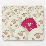 Sheeps Pattern Mousepad
