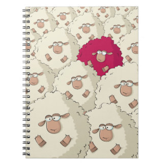Sheeps Pattern Note Book