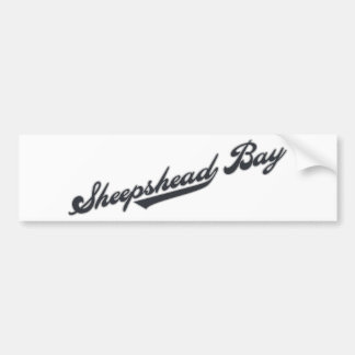 Sheepshead Bay Car Bumper Sticker