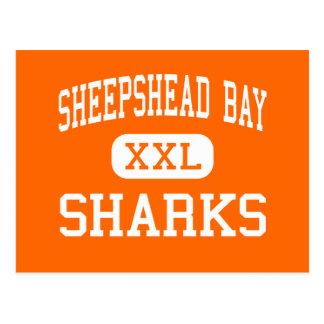 Sheepshead Bay - Sharks - High - Brooklyn New York Postcards