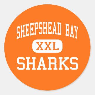 Sheepshead Bay - Sharks - High - Brooklyn New York Stickers