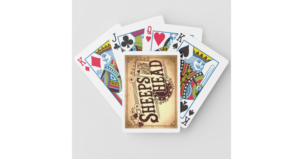 Sheepshead Bicycle Playing Cards Zazzle Com