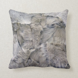 Sheepskin Throw Pillow
