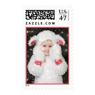 Sheepy in the Snow Stamp