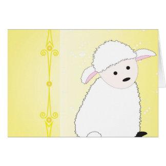 Sheepy on Yellow Card