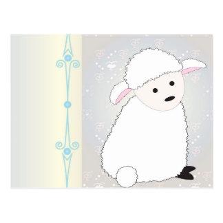 Sheepy Postcard