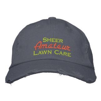 Sheer Amateur Lawn Care Baseball Cap