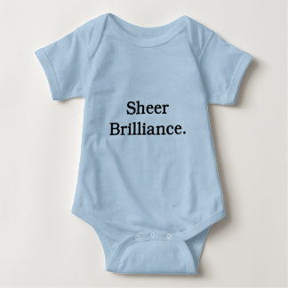 Sheer Brilliance. Baby Bodysuit