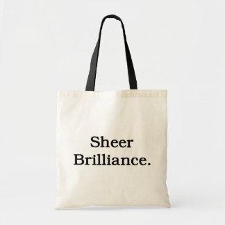 Sheer Brilliance. Tote Bag