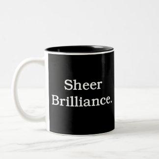 Sheer Brilliance. Two-Tone Coffee Mug
